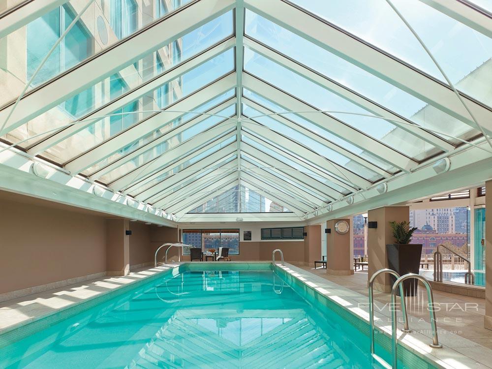 Indoor Pool Of The Langham Hotel Melbourne.