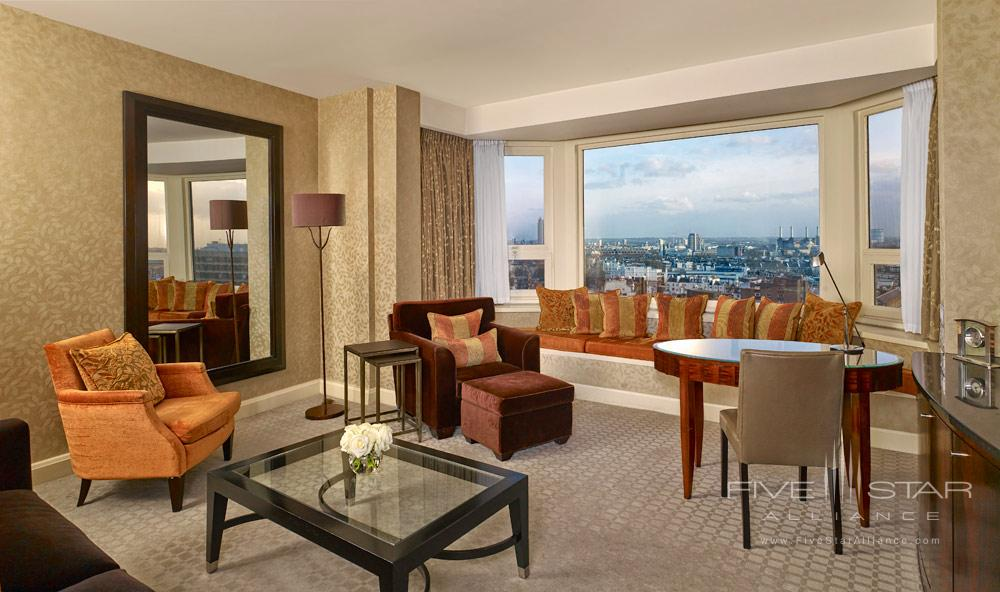 Sitting Room at The Park Tower Knightsbridge, London, United Kingdom