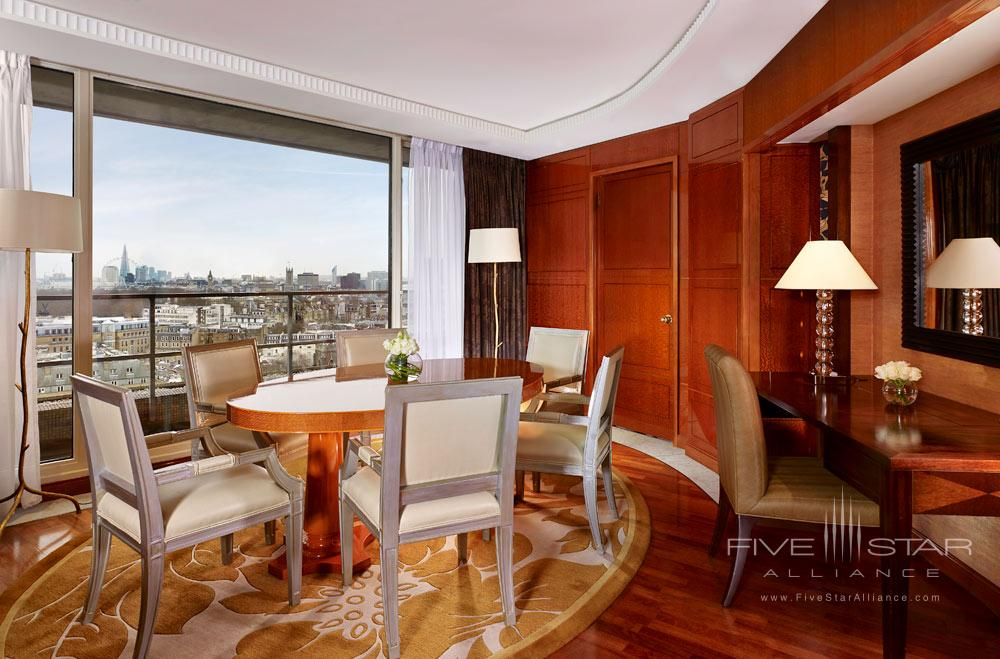 Suite Dining at The Park Tower Knightsbridge, London, United Kingdom