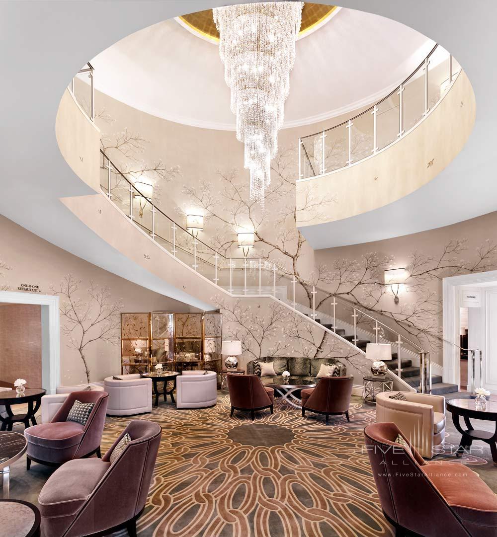 Lounge at The Park Tower Knightsbridge, London, United Kingdom