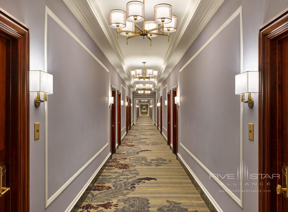 Guestroom Corridor at Palace HotelSan Francisco