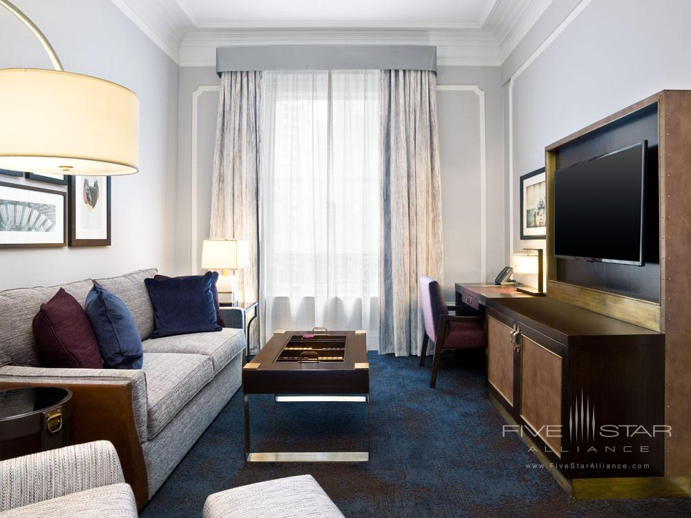 Superior Suite Living Area at Palace HotelSan Francisco