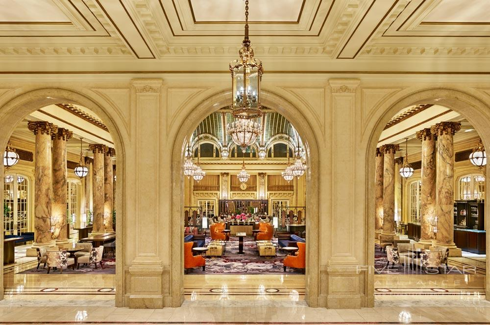 Entryway to The Garden Court at Palace HotelSan Francisco