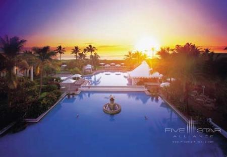 Resort Exterior at Dawn