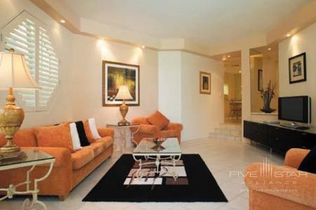 Villa Lounge Room - Individual Orange & Black Dec