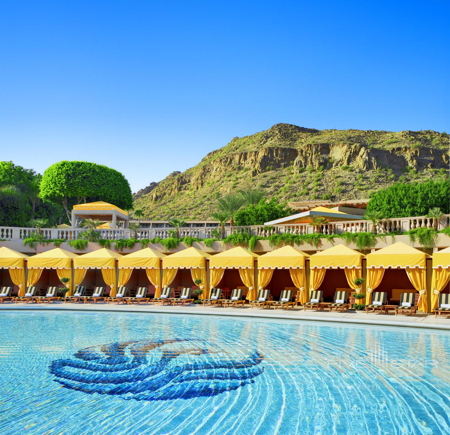 The Phoenician Pool Area