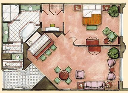 Prima Suites Floorplan at The Venetian Las Vegas
