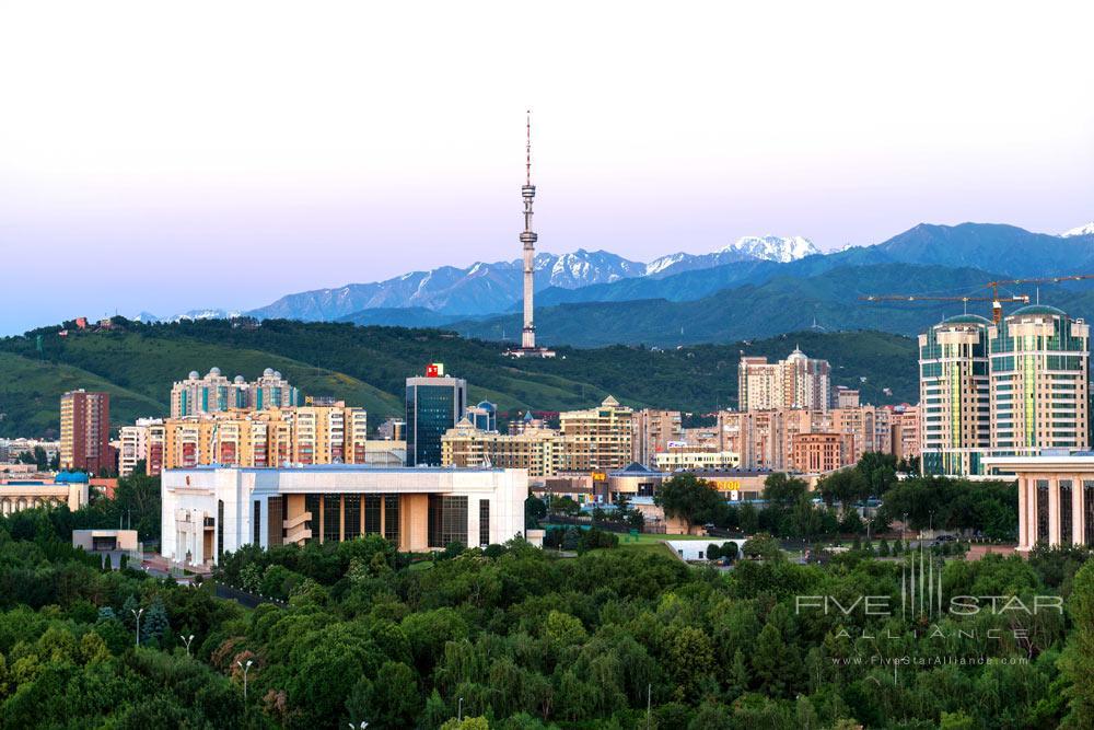 View ofThe InterContinental AlmatyKazakhstan