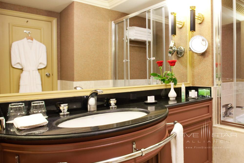 Bathroom at The InterContinental AlmatyKazakhstan