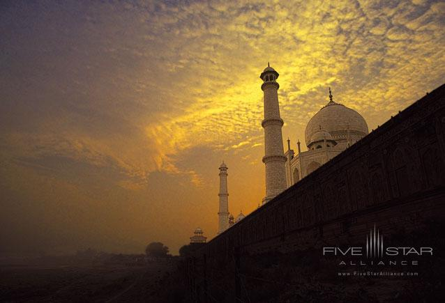The Oberoi Amarvilas-View of the Taj Mahal