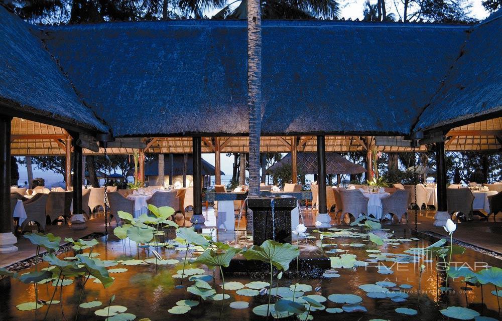 Kura Kura Restaurant at Oberoi BaliIndonesia