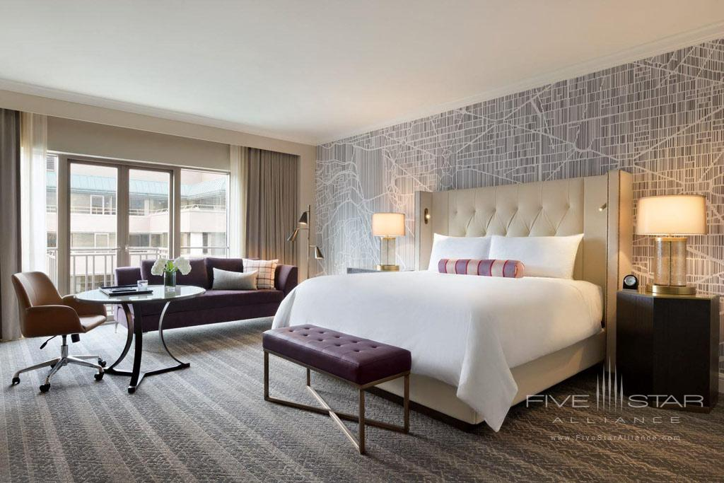 Gold Signature King Guest Room at Fairmont Washington DCUnited States