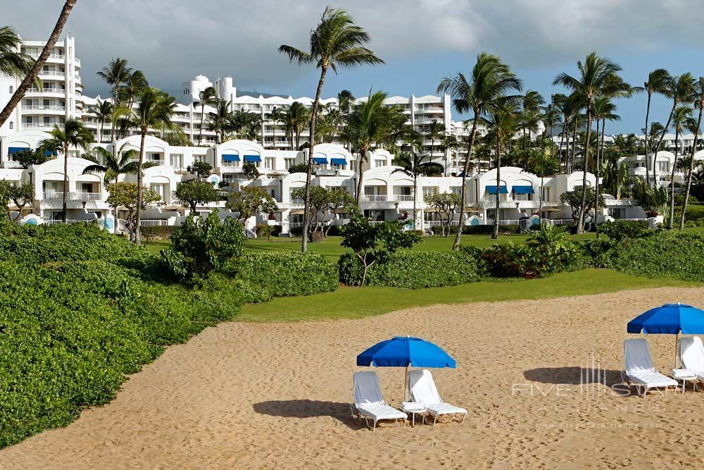 Beach at Fairmont Kea Lani Resort, HI