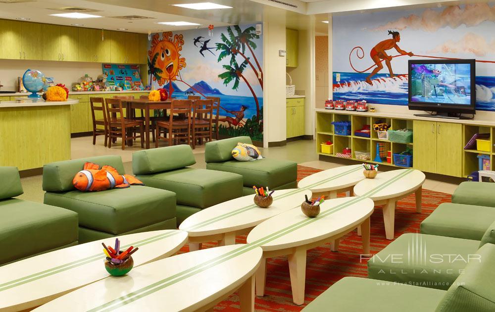 Lounge at Fairmont Kea Lani Resort, HI