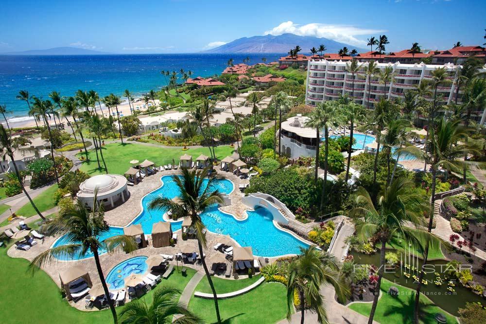 Overview at Fairmont Kea Lani Resort, HI