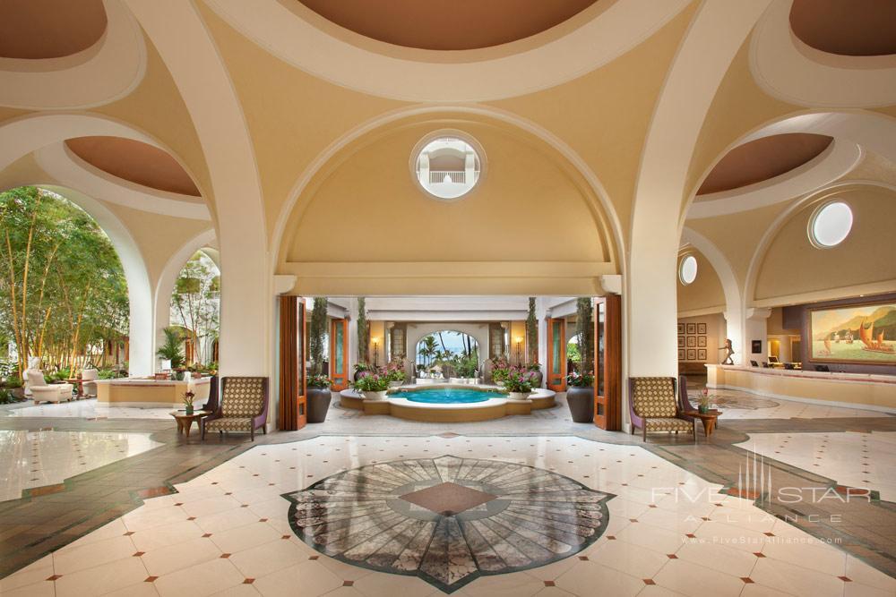 Lobby of Fairmont Kea Lani Resort, HI