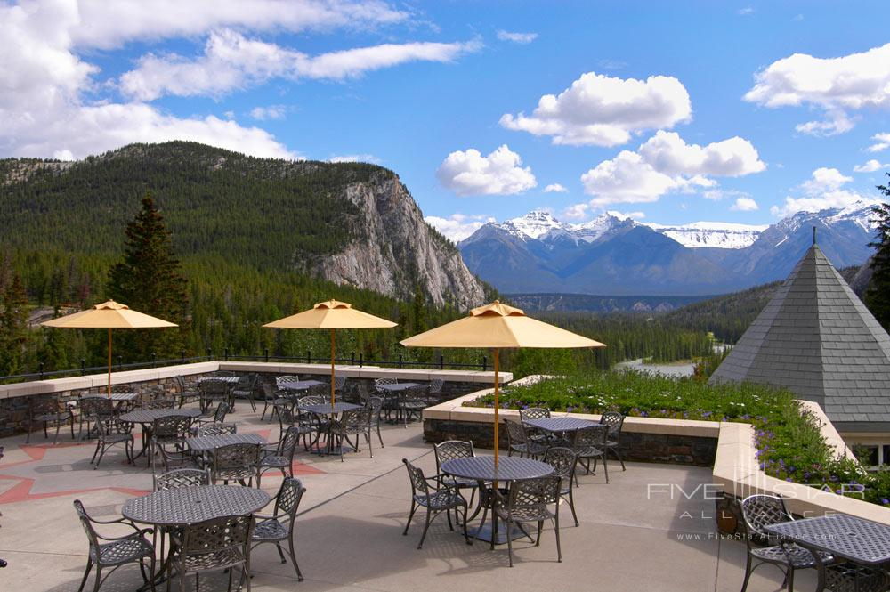 terrace dining room banff | Photo Gallery for Fairmont Banff Springs in Banff | Five ...