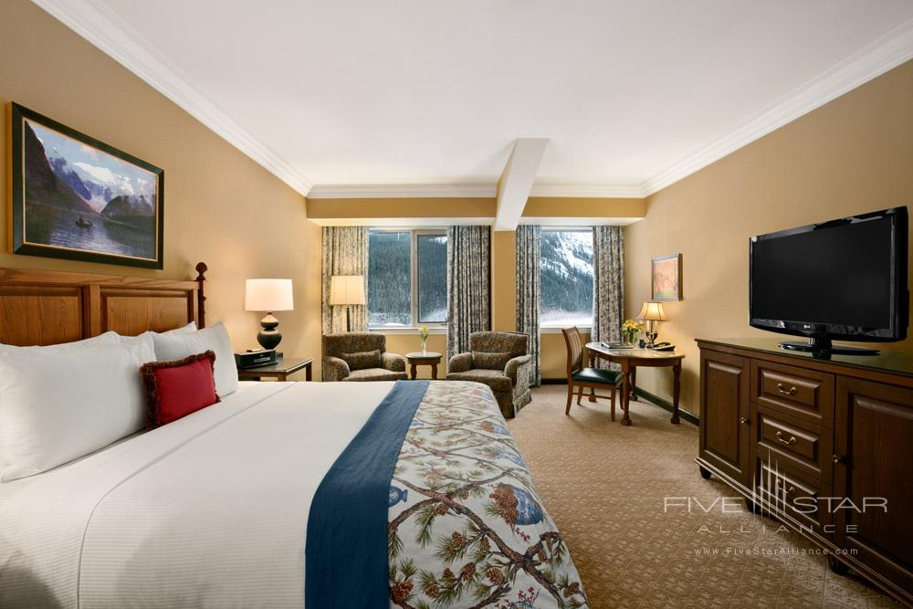Guest Room at Fairmont Chateau Lake LouiseCanada