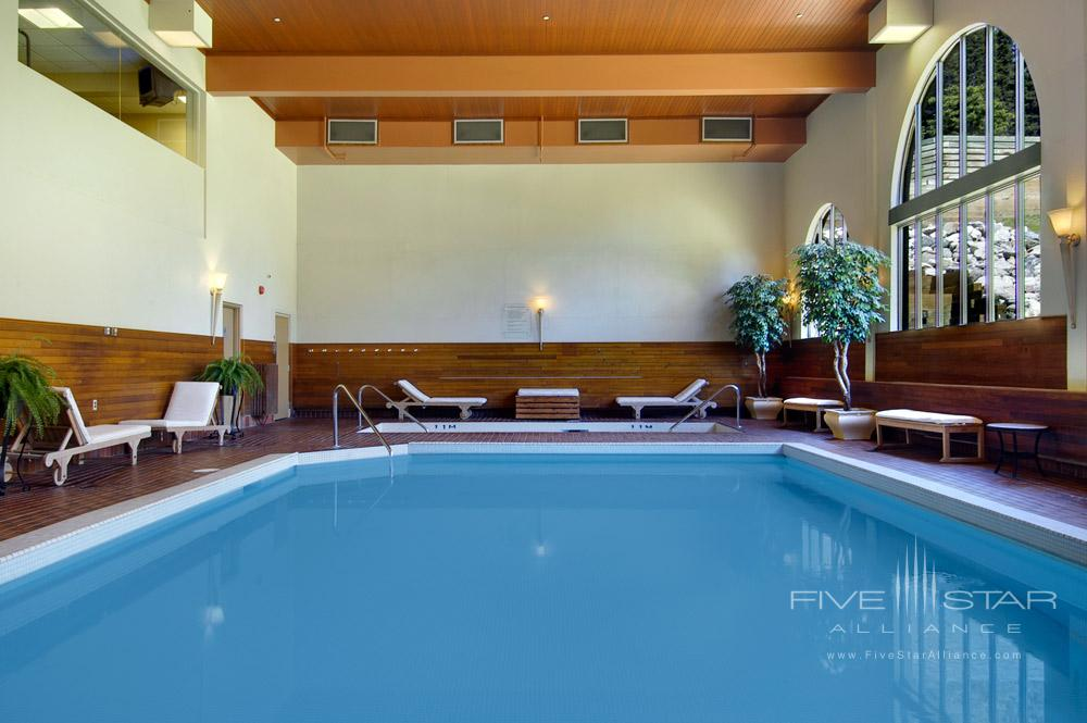 Indoor Pool at Fairmont Chateau Lake LouiseCanada