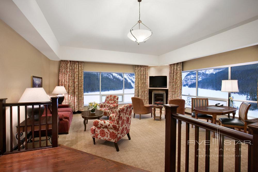 Suite Lounge at Fairmont Chateau Lake LouiseCanada