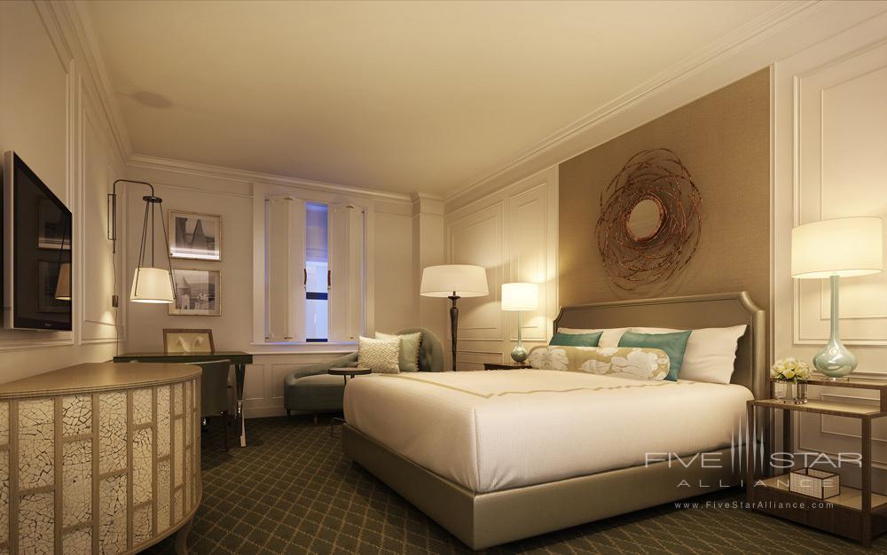 Guest Room at Fairmont Le Chateau FrontenacQuebec City