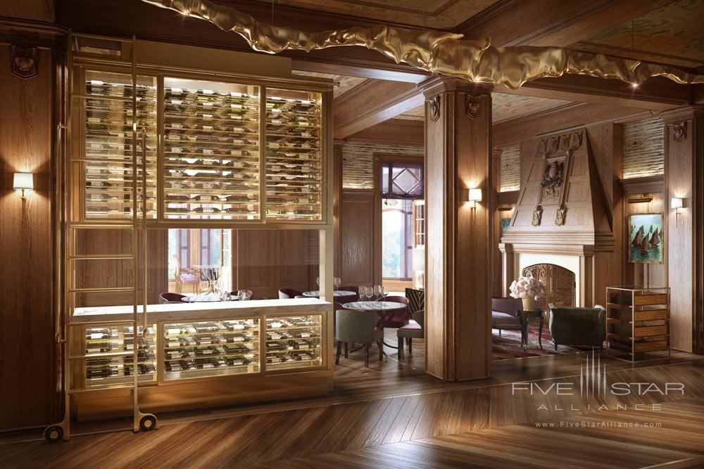 Bar at Fairmont Le Chateau FrontenacQuebec City