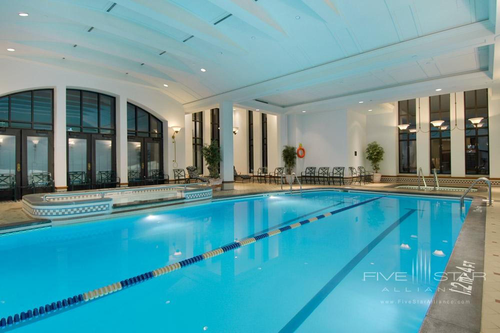 Indoor Pool at Fairmont Le Chateau FrontenacQuebec City