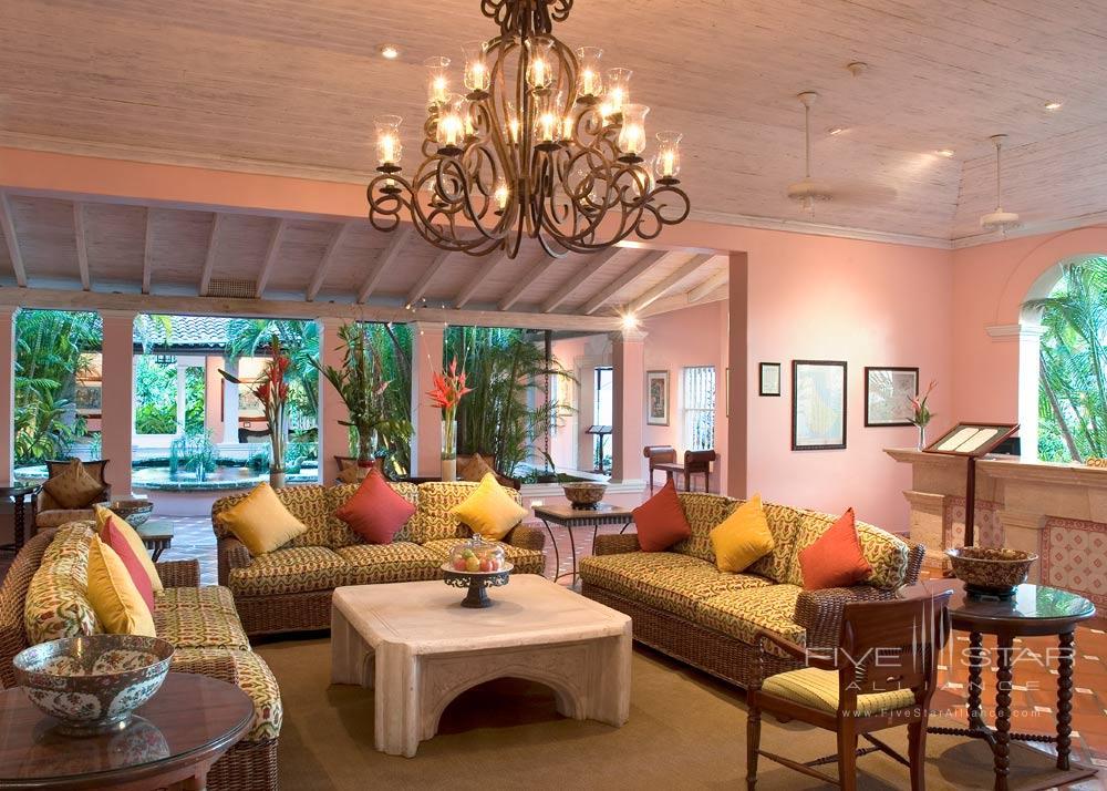 Lobby at Fairmont Royal Pavilion, St James, Bridgetown, Barbados