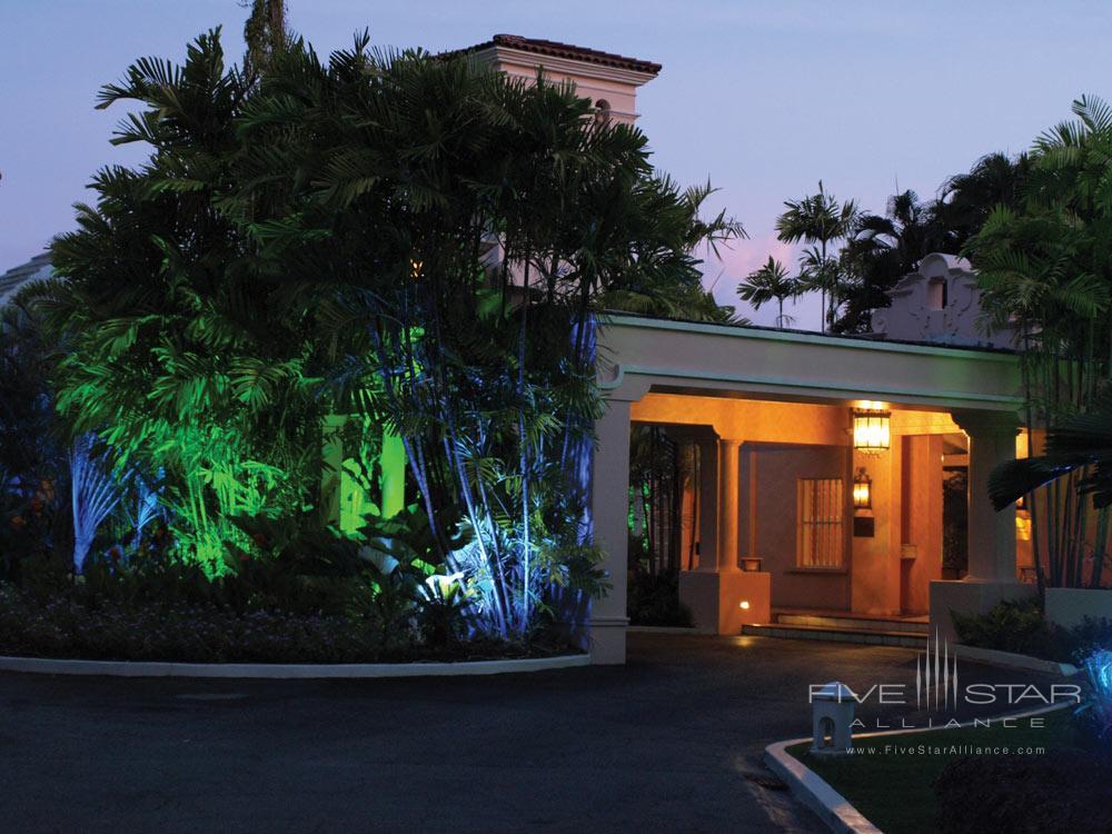 Entrance of Fairmont Royal Pavilion, St James, Bridgetown, Barbados