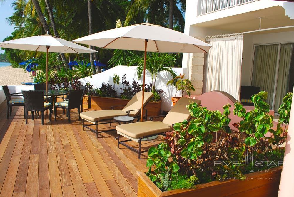 Beachfront Junior Suite at Fairmont Royal Pavilion, St James, Bridgetown, Barbados