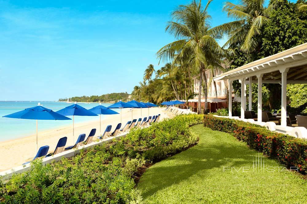 Exterior beach view at Fairmont Royal Pavilion, St James, Bridgetown, Barbados