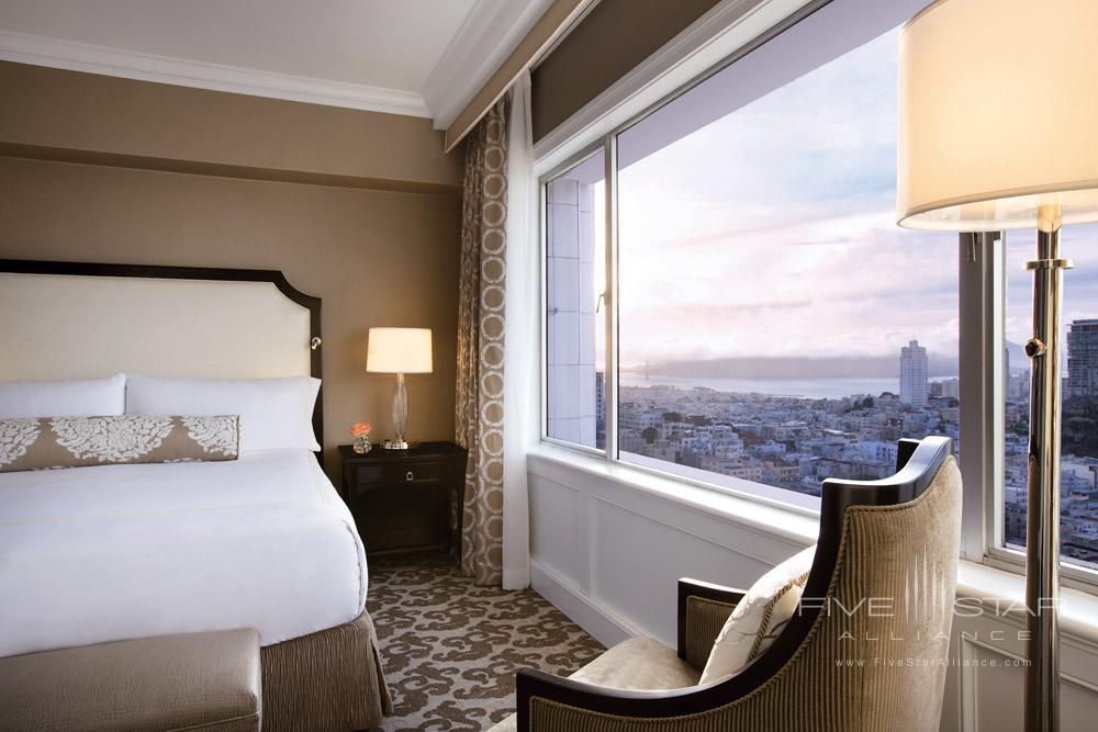 Signature Golden Gate Suite Bedroom at Fairmont San Francisco