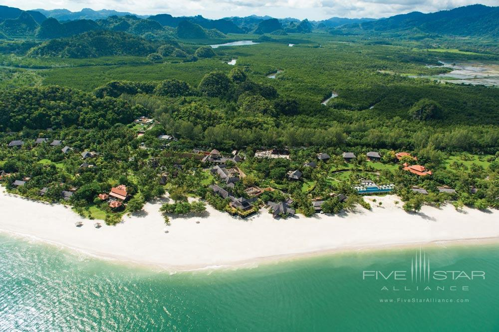 Overview of Four Seasons LangkawiKedah Darul AmanMalaysia