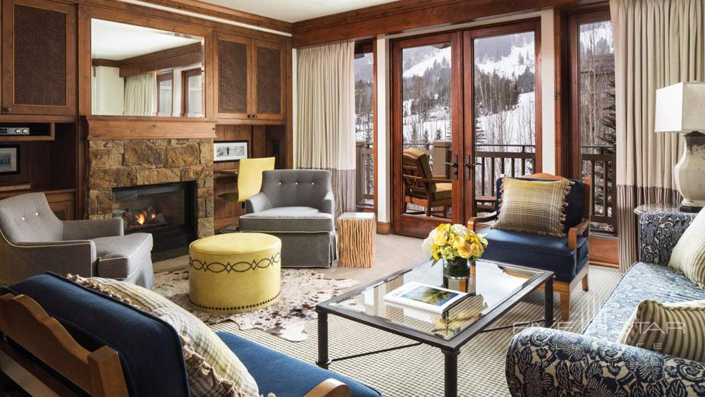 Suite Lounge at Four Seasons Jackson HoleWY