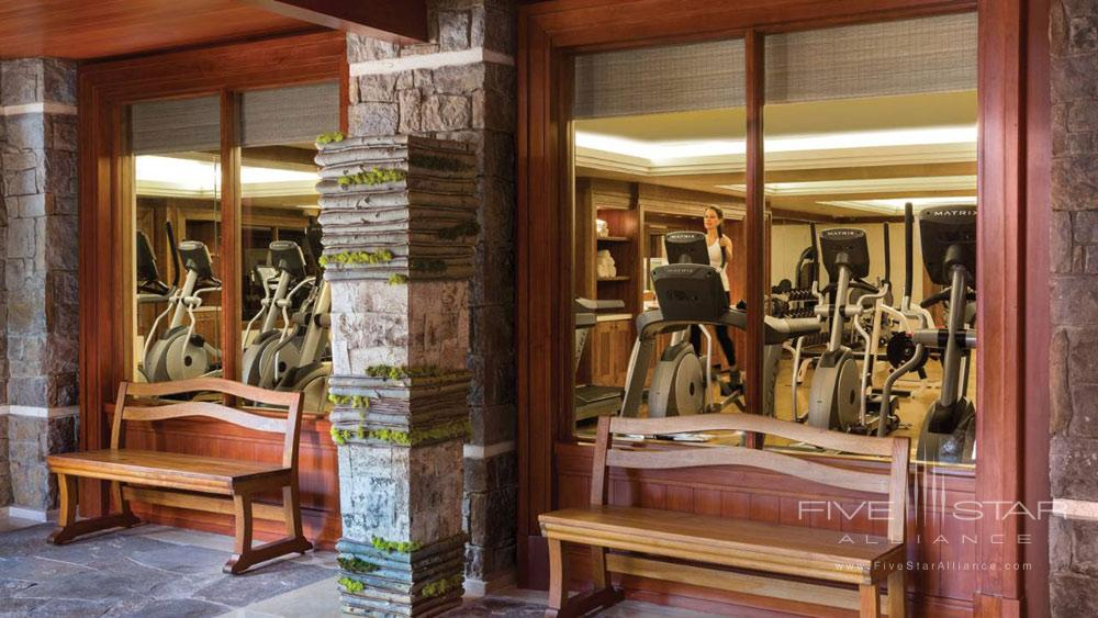 Fitness Center at Four Seasons Jackson HoleWY