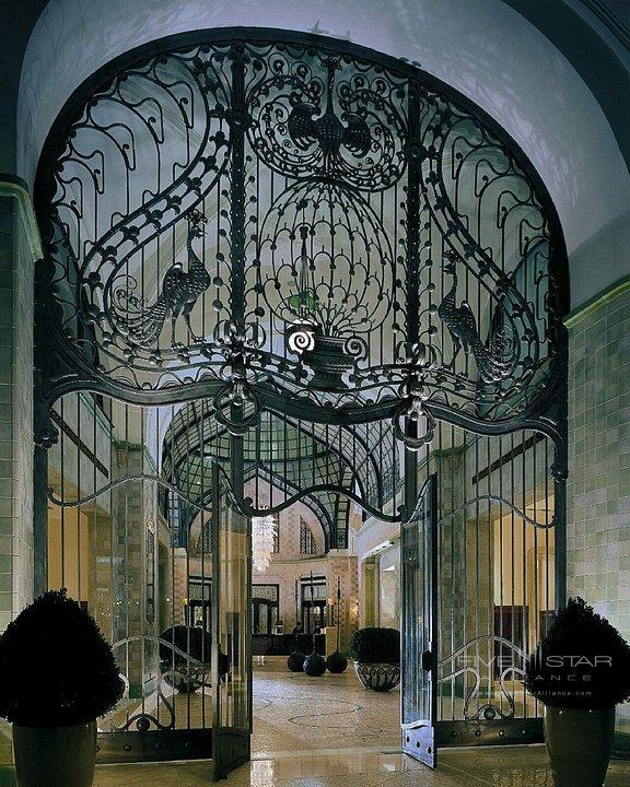 Four Seasons Gresham Palace Peacock Gate