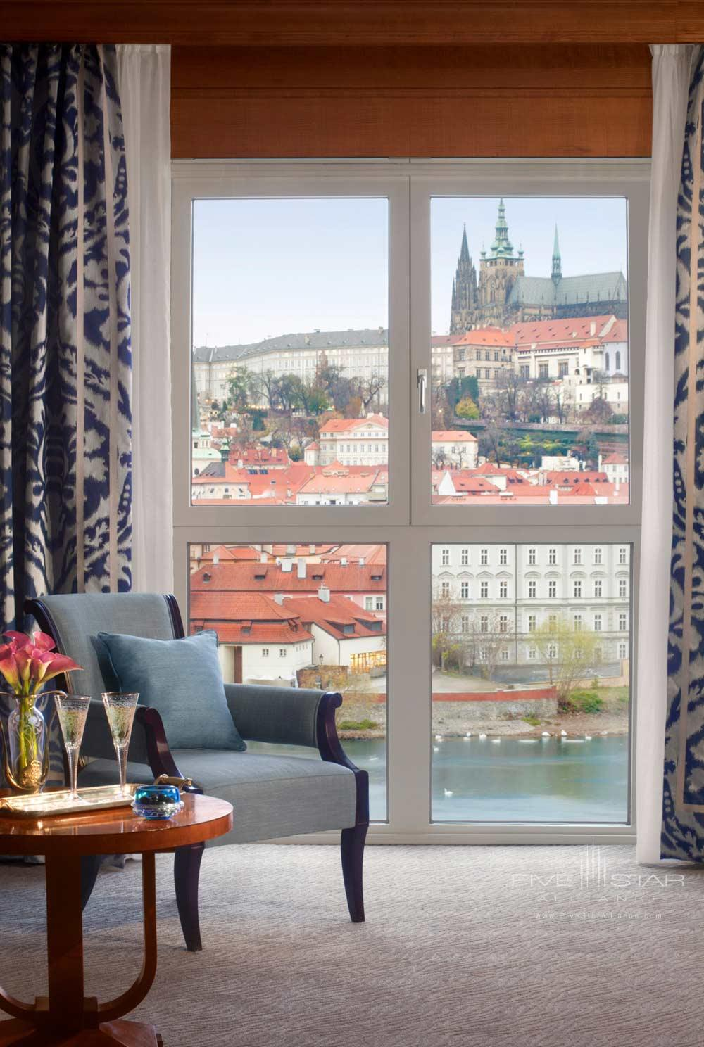 Four Seasons Prague guestroom, Praha, Czech Republic