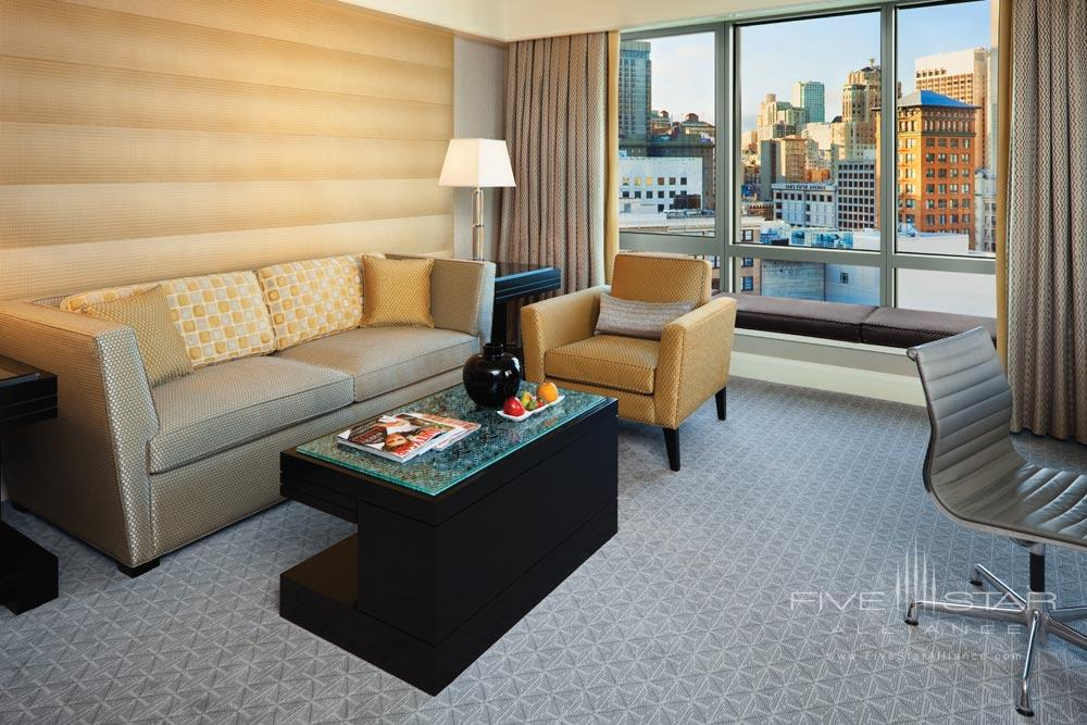 Deluxe One Bedroom Suite with Living Area at Four Seasons San Francisco