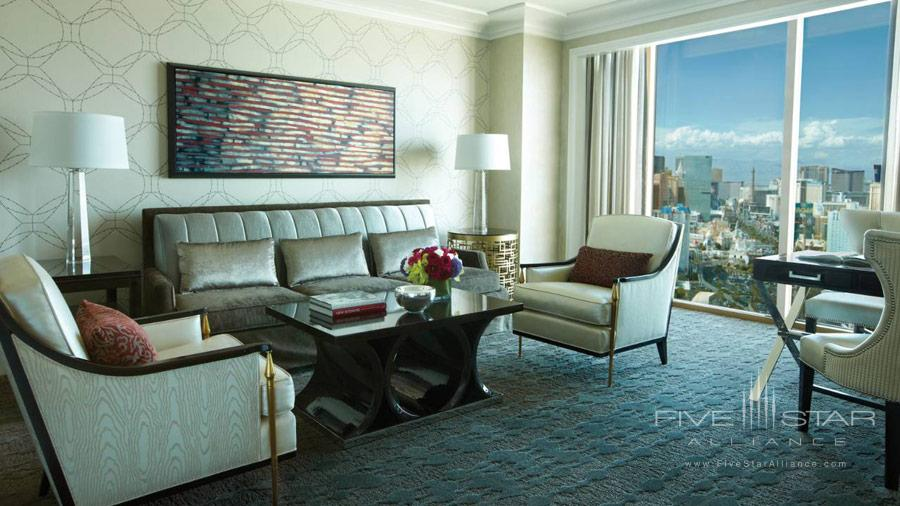 Renovated Four Seasons Las Vegas Guest Room