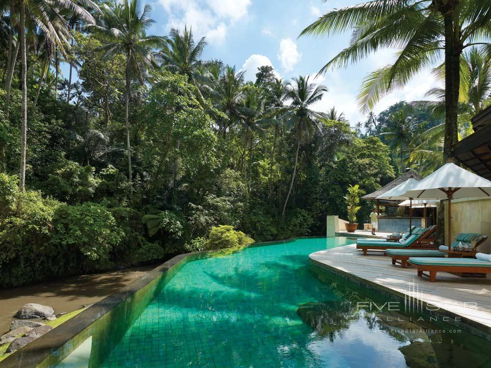 Pool of Four Seasons Sayan BaliIndonesia