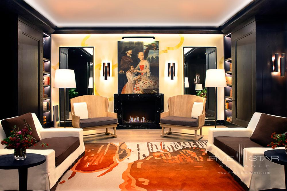 Lounge at Four Seasons Mexico City