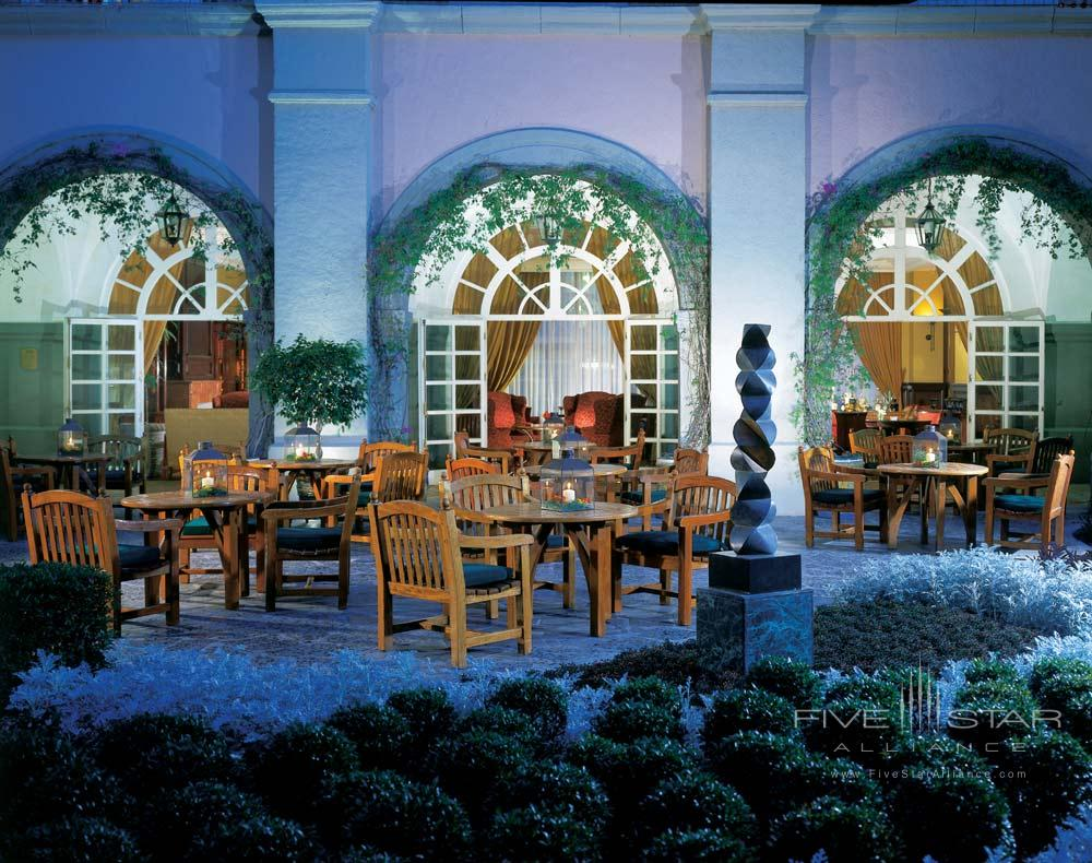 Terrace Dining at Four Seasons Mexico City