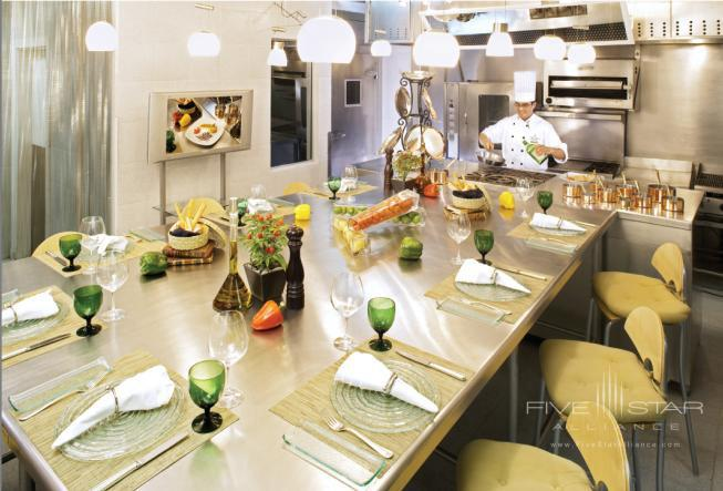 Chef and Dining at Four Seasons Mexico City