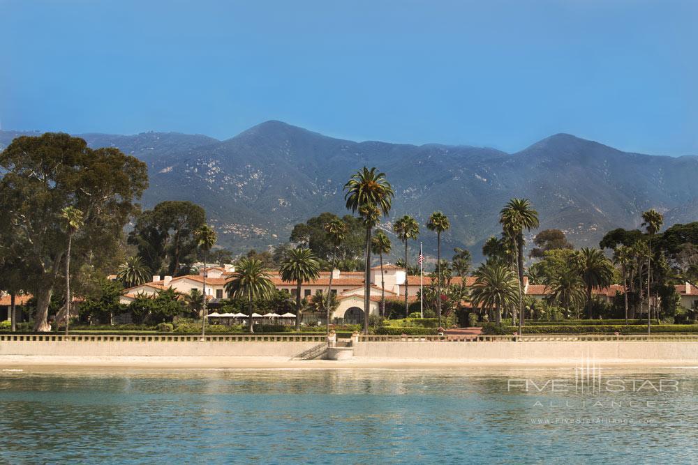 Overview of Beach at Four Seasons Santa Barbara Biltmore