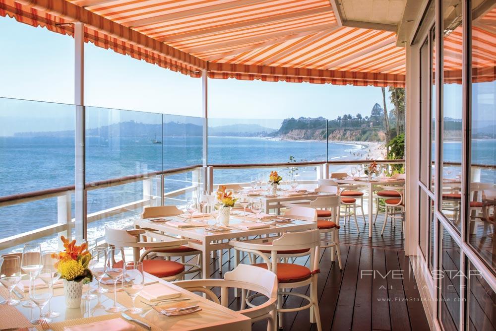 Terrace Dining at Four Seasons Santa Barbara Biltmore
