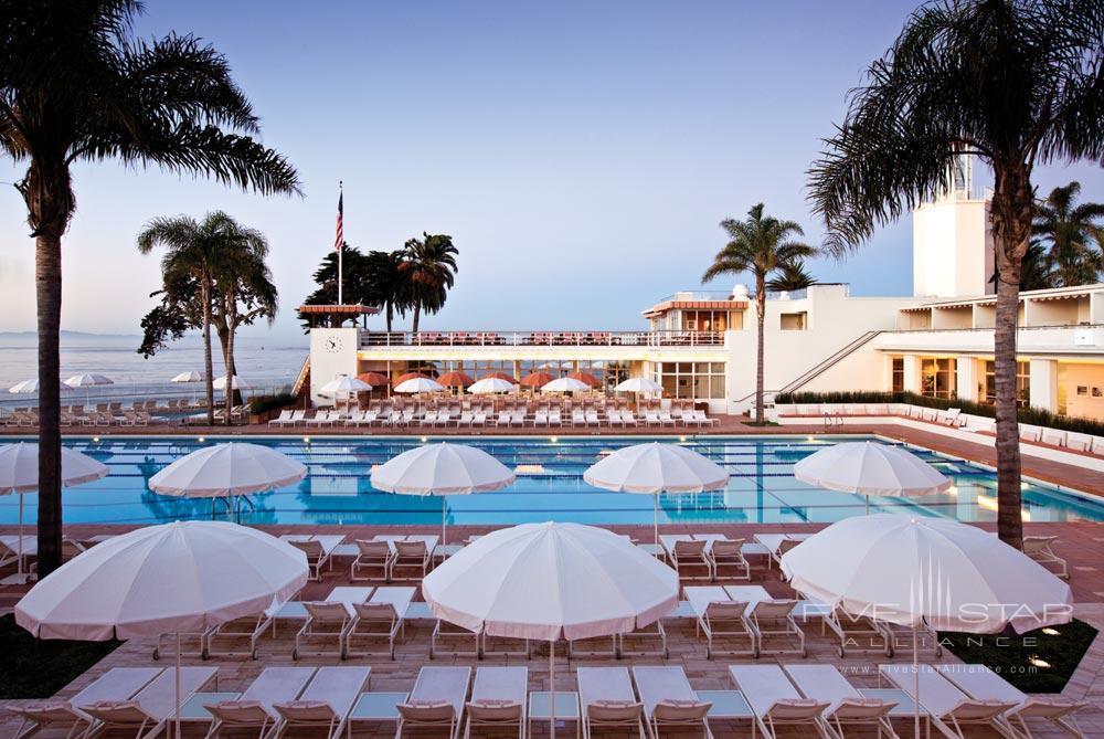 Pool at Four Seasons Santa Barbara Biltmore
