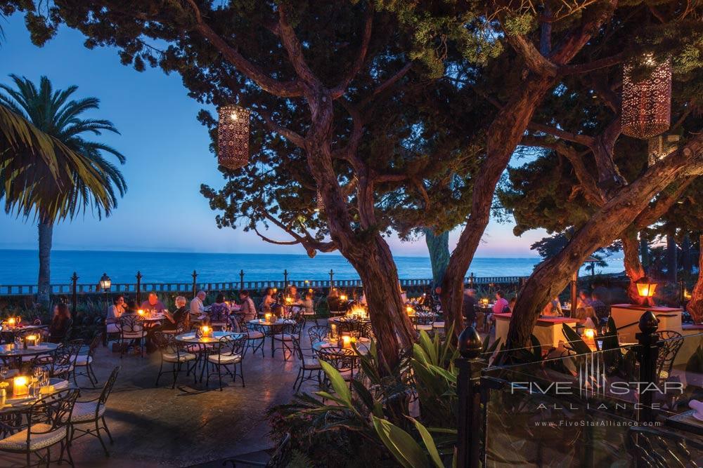 Dining at Four Seasons Santa Barbara Biltmore