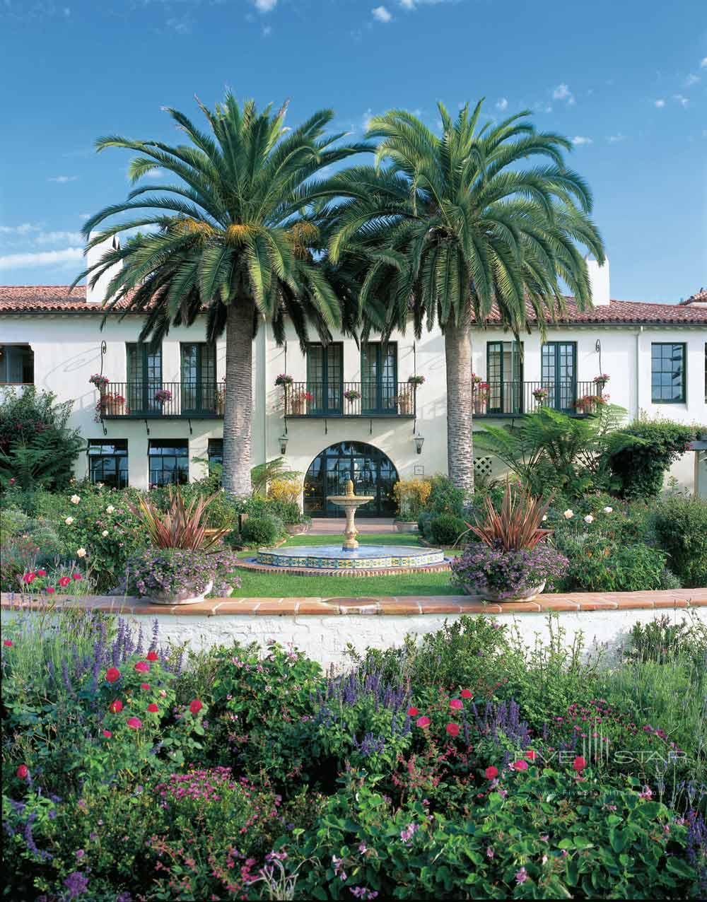Exterior of Four Seasons Santa Barbara Biltmore