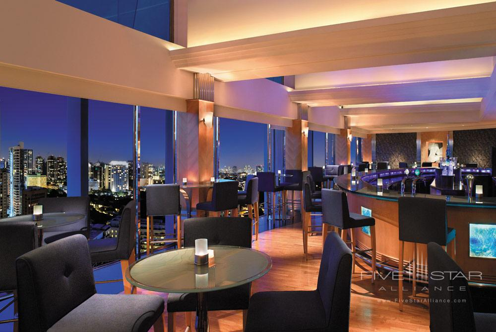 The Blue Bar at Shangri-La Hotel Singapore, Singapore