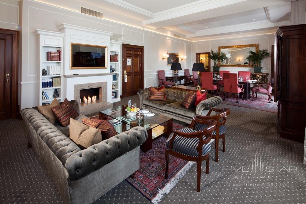 Country Club Lima HotelPresidential Suite Living Room, Peru